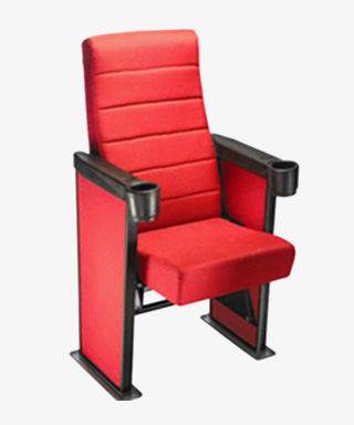 Auditorium Chair with Arms Push Back