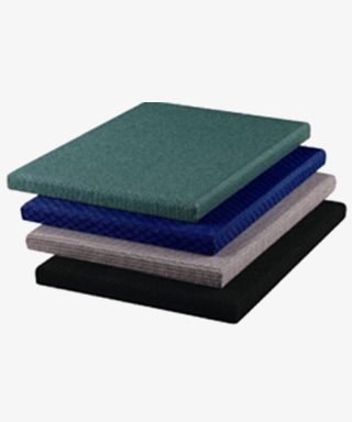 Fabric Faced Fiberglass Acoustical Panels